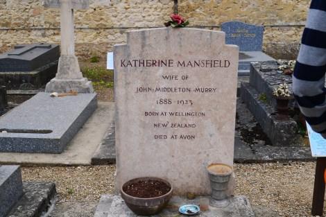 KM headstone