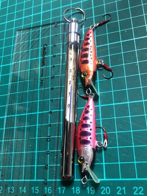水温計釣り