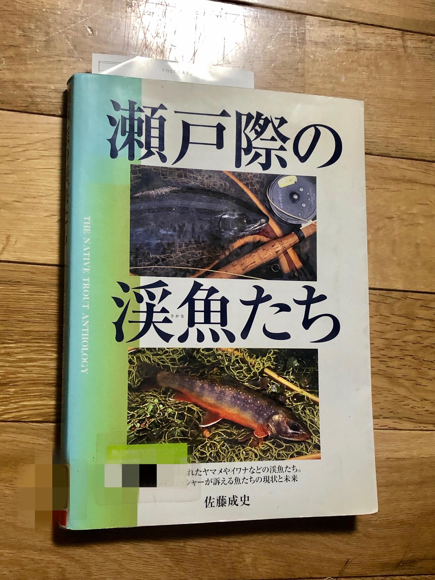 渓流釣りの本