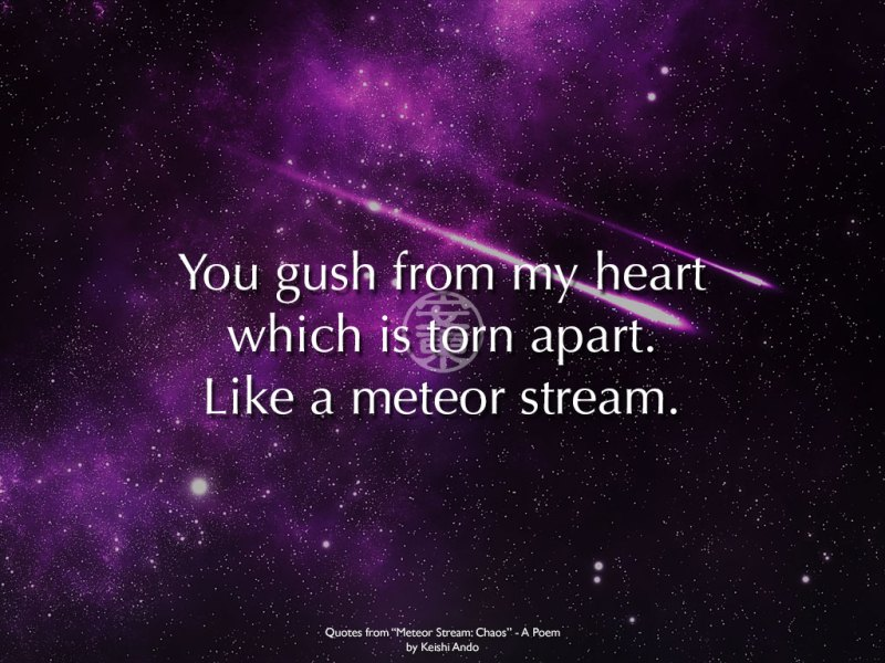 Meteor Stream: Chaos