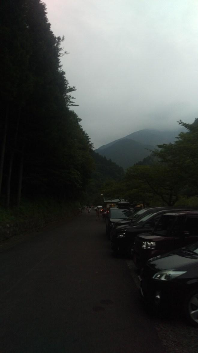 到着した日は残念ながら曇っていました。