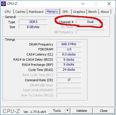 CPUデュアルチャネル