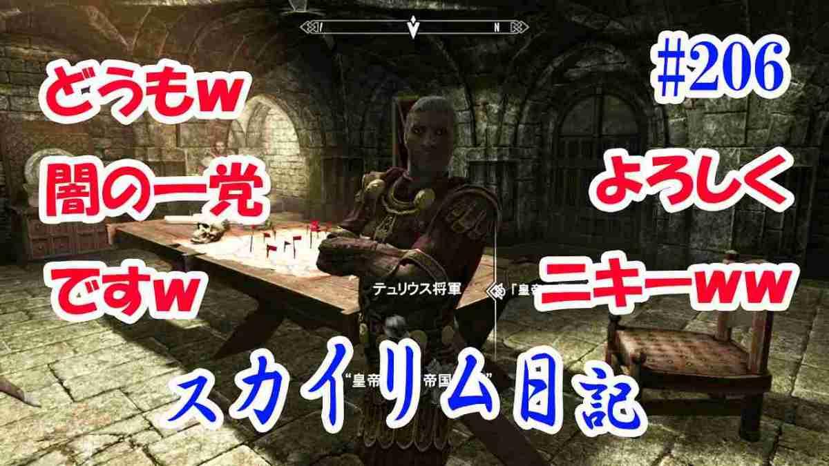 スカイリム(Switch) 初心者プレイ日記(206)闇の一党ですwよろしくw 帝国軍に入隊!