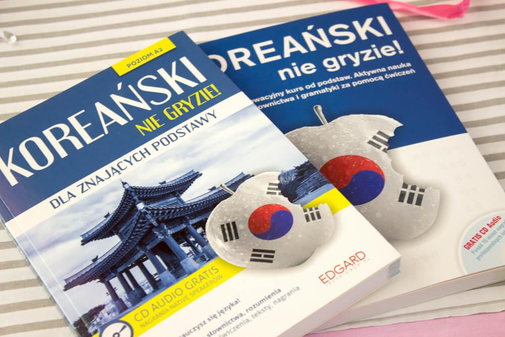 Książki do nauki koreańskiego w języku polskim