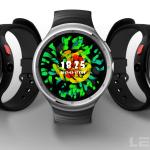 LEMFO LES1 Android 搭載 スマートウォッチ スマホと連携 Wi-Fi ブルートゥース カメラも搭載