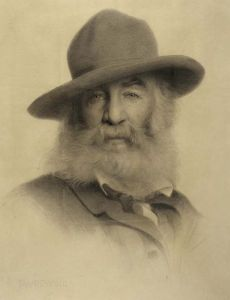 Whitman in 1875 by Thomas Dewing [Public domain]