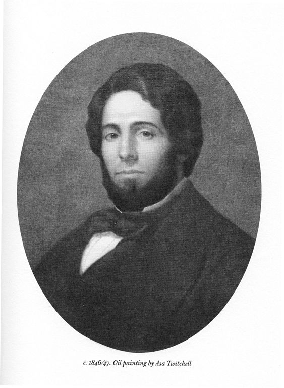 1846 Paining of Herman Melville by Asa Twitchell [Public domain]