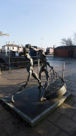 Fishermen Sculpture