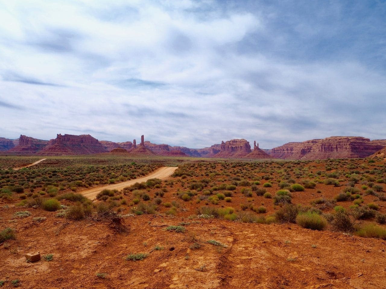 Valley of the Gods in Utah
