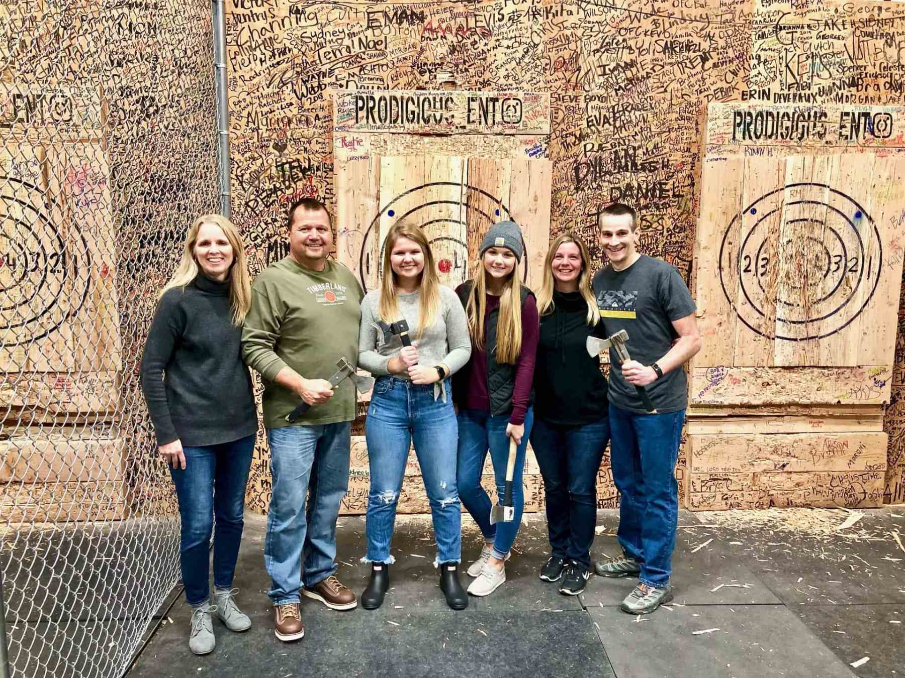 Axe Throwing!