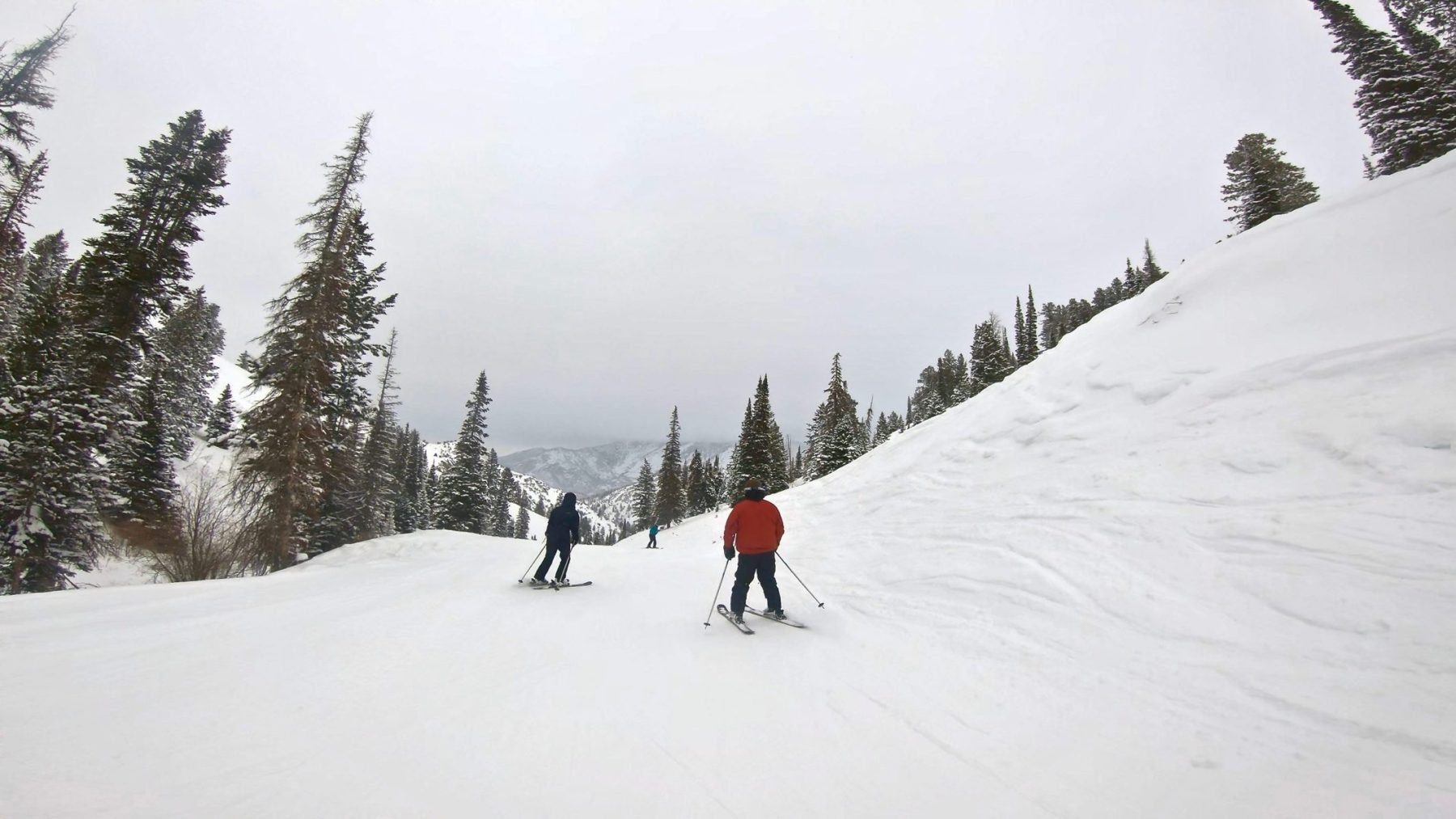 Powder Mountain, baby!