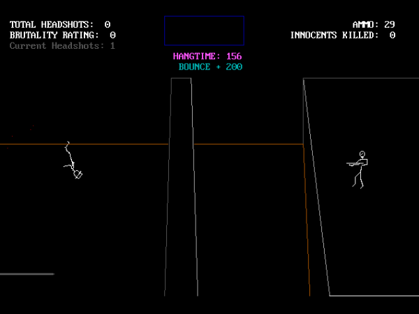 """Kill the Innocent"", a game I made in my teens."