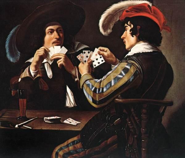 Theodoor_Rombouts_-_Joueurs_de_cartes