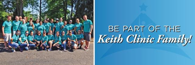 "Group Picture ""Be a part of Keith Clinic"""