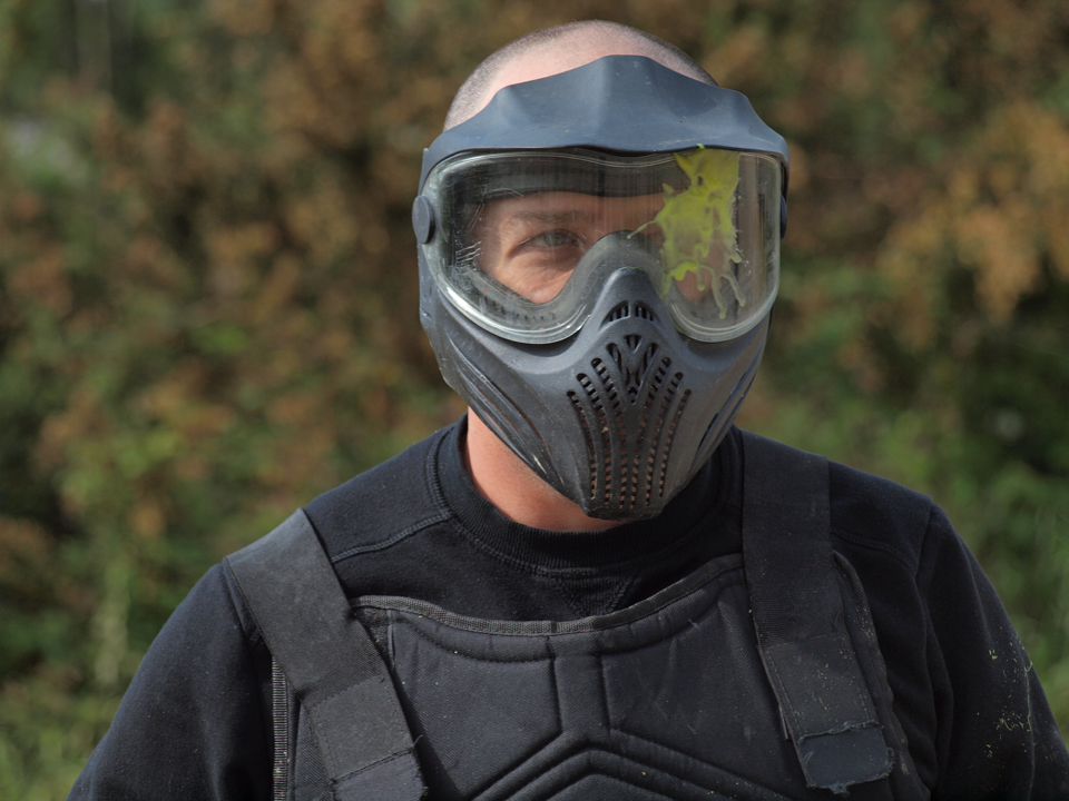 Into battle with the paintball warriors