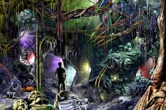 scene 16 from Fred Pasek's new sci fi novel