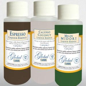 Three Premium Liqueur Essence flavours