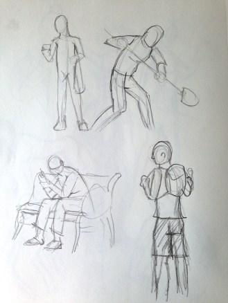 More gestures.