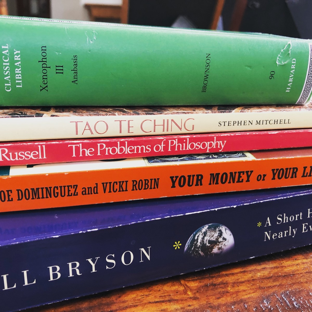 Five Books to Re-read This Year