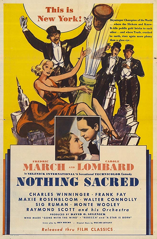 Classic Review Nothing Sacred 1937