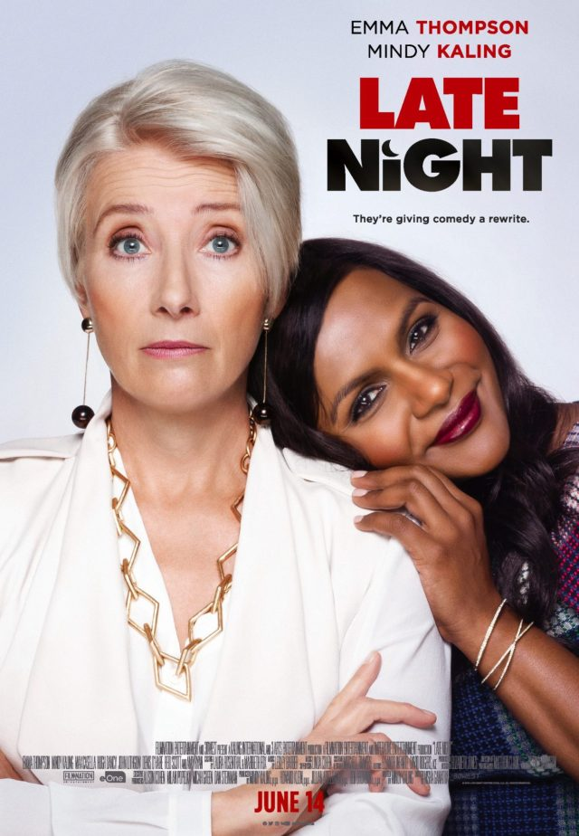 Late Night – A Sharp Topical Comedy