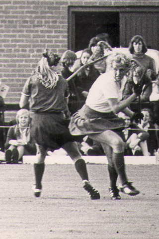 Celia in action in the USA in 1975