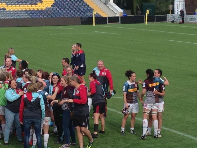 A photograph at the end of a rugby union final in 2017. The coach thinks this is the start of a learning journey with a group of players and his own coaching.