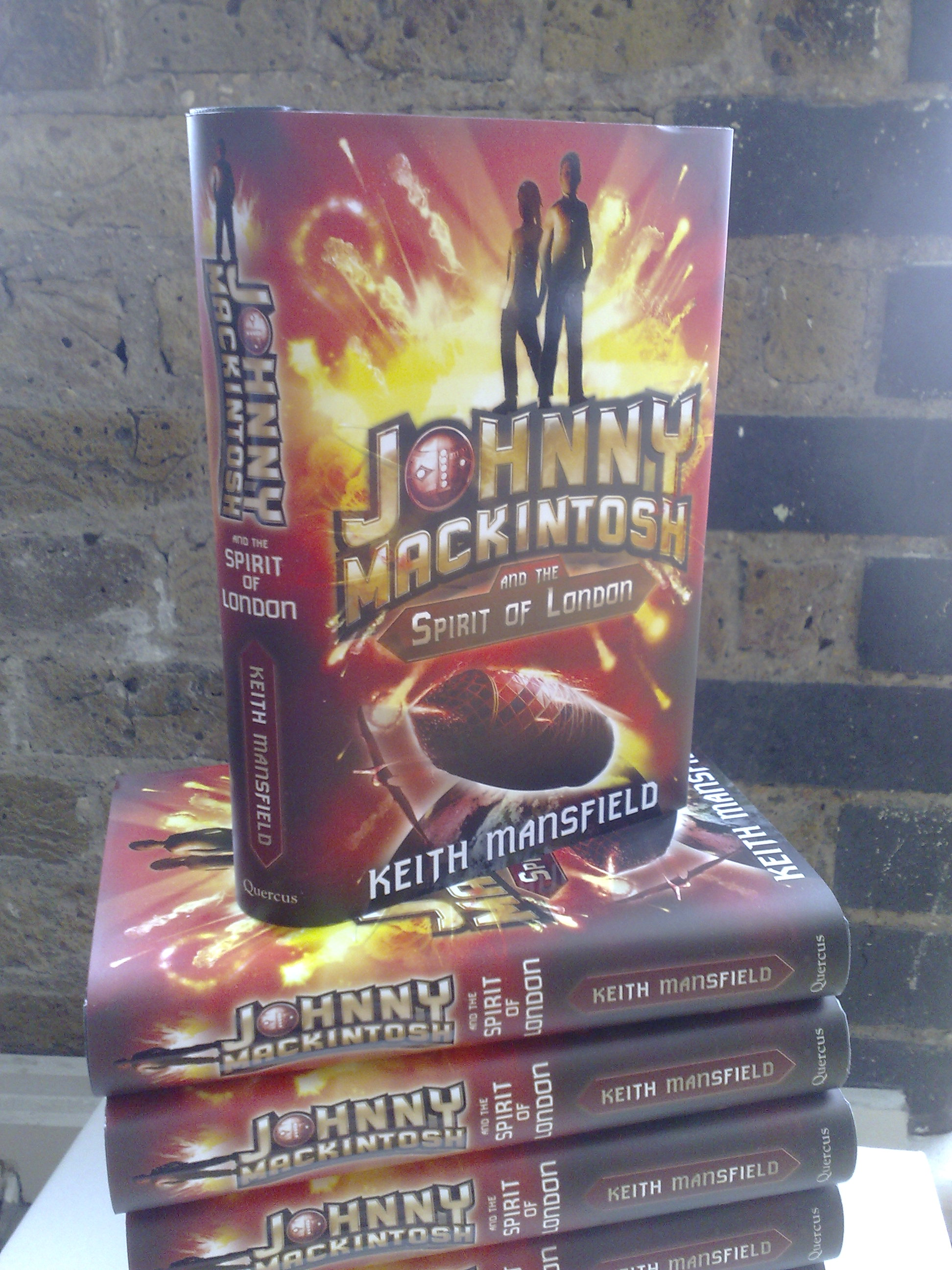 Johnny Mackintosh and the Spirit of London books