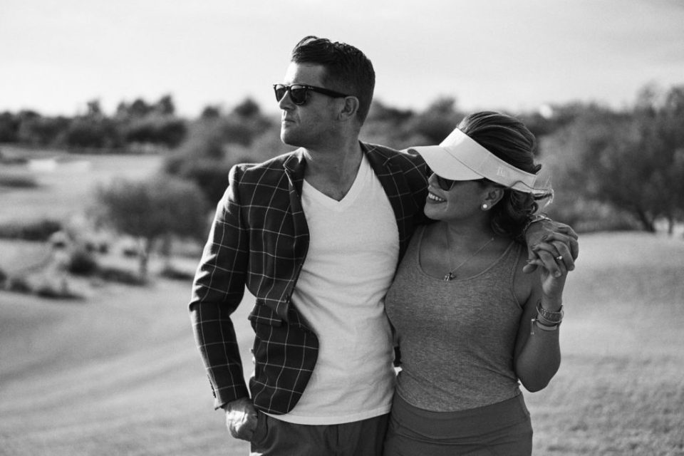 Scottsdale engagement session