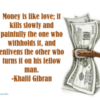 For the Love of Money (Psalm 62:10)