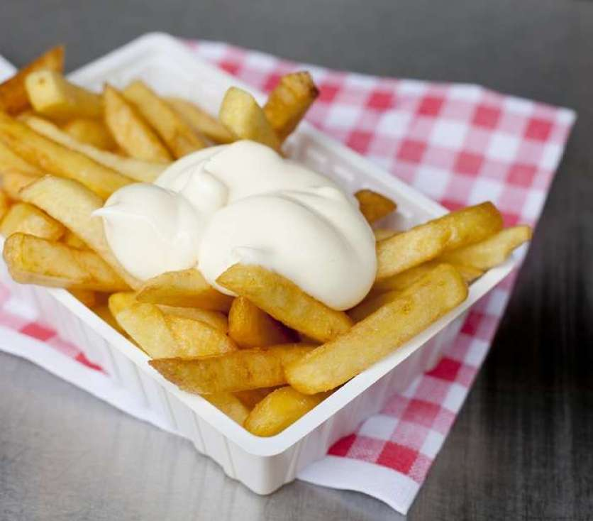 Belgian Fries with mayonaise