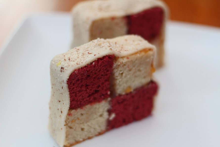 Keith Squires - Battenberg cake 2
