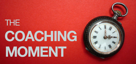 Recognizing issues your team has is easy. Uncovering powerful coaching moments is much trickier.