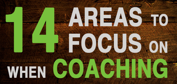 What Do You Coach? 14 Areas to Focus on When Coaching Salespeople
