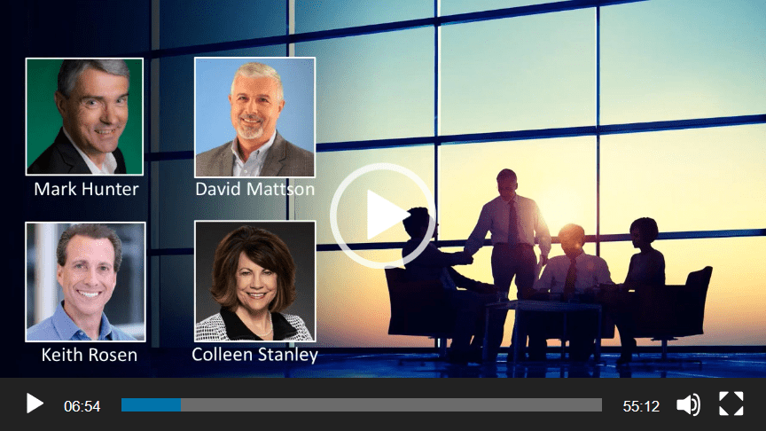 Sales Futurists Roundtable – How to Achieve Your 2020 Sales Goals With Fewer Resources