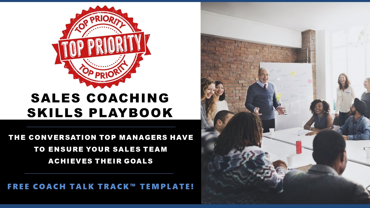 THE Coaching Conversation Managers MUST Have to Ensure Salespeople Achieve Their Sales Goals