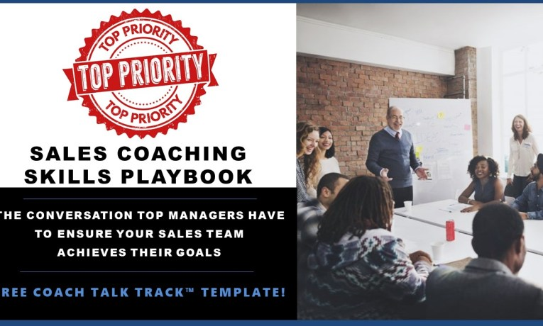 THE Coaching Conversation Managers MUST Have to Ensure Salespeople Achieve Their Sales Goals – Download Now!
