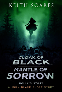 Cloak of Black Mantle of Sorrow