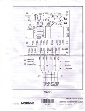 Nordyne Miller 917178A defrost control