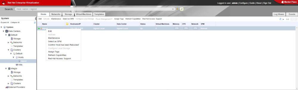 Red Hat Enterprise Virtualization (RHEV) Home Lab Configuration (4/6)