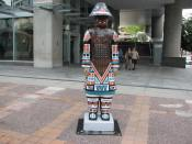 Haida Themed Terracotta Warrior