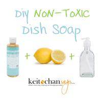 DIY: Non-Toxic Dish Soap