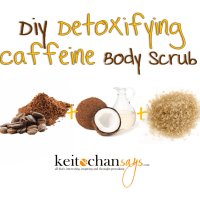 DIY: Detoxifying Caffeine Body Scrub