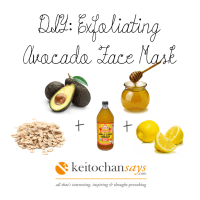 DIY: Exfoliating Avocado Face Mask