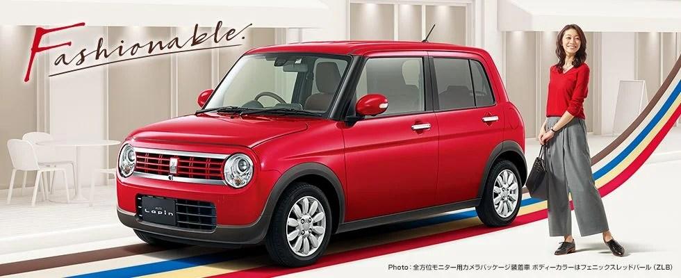 新型ラパン特別仕様車【Fリミテッド】