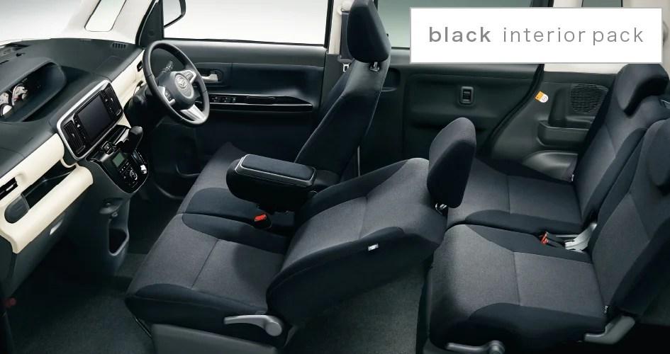 新型ムーヴキャンバスブラック内装画像