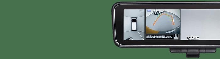 新型ek-クロス内装デジタルルームミラー