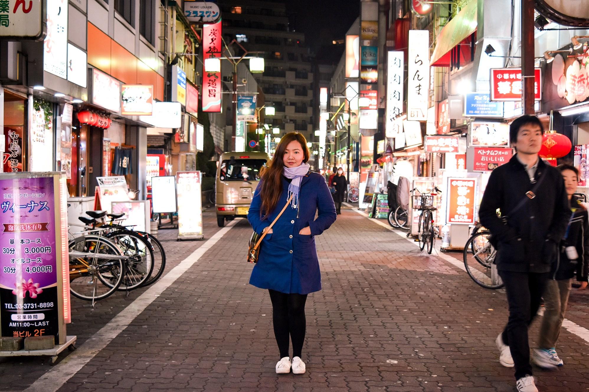 The streets of Kamata, Tokyo