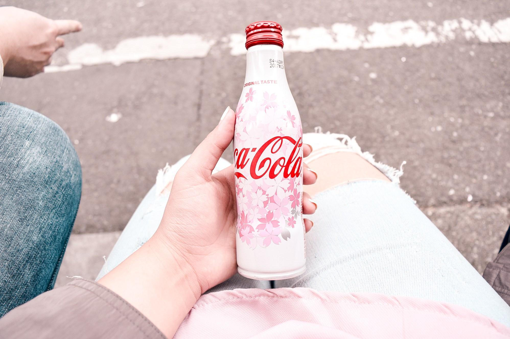 Limited Edition sakura Coke bottle