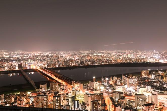 Osaka City Lights